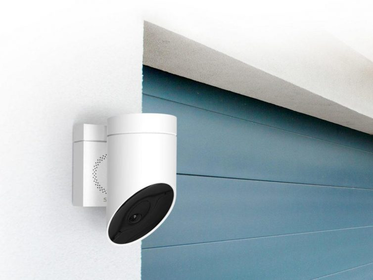 De nieuwe Somfy bewakingscamera