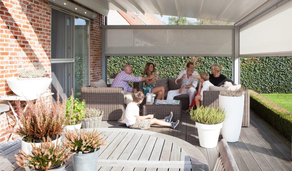 terrasoverkapping buitenleven genieten