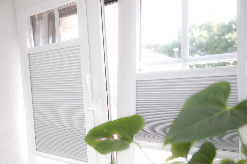 plissé Raamdecoratie draai-kiepraam